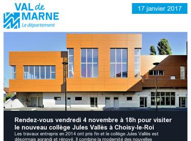 Collège / Val'Hebdo / Cinéma / Travaux