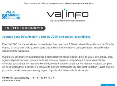 Val'info : 08/02/2018