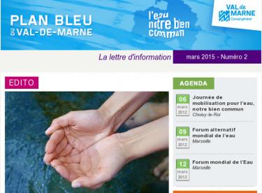Lettre d'information du Plan bleu spéciale Forum mondial de l'eau