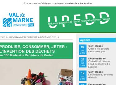 """UPEDD Cycle à Créteil """"Produire, consommer, jeter : l'invention des déchets"""""""