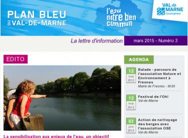 Lettre d'information du Plan bleu - Comment sensibiliser à l'eau - Festival de l'Oh! 2012