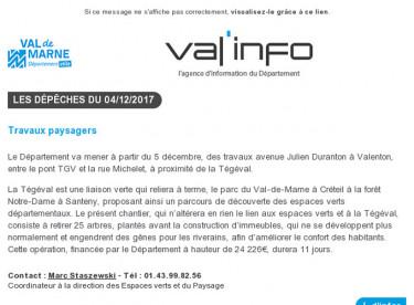 Val'info : 04/12/2017
