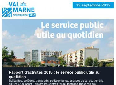 Rapport d'activité 2018 / Aménagements cyclables / Journées du Patrimoine