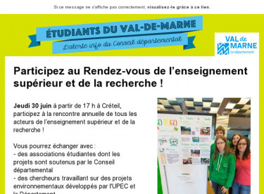 Alerte info étudiants