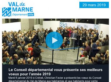 Vœux 2019 : l'emploi pour tous et le renforcement du service public / Inauguration de la Maison du handball à Créteil