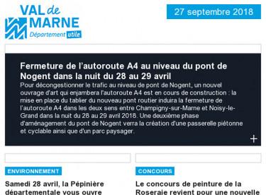 Fermeture de l'A4 dans la nuit du 28 au 29/04 / Pépinière / Concours de peinture / Archéologie / Vivicittà