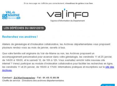 Val'info : 08/01/2019