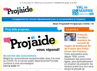 News Projaide#115 Spéciale COVID-19