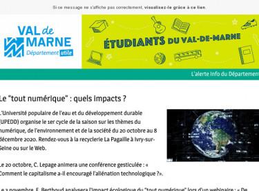 """Le """"tout numérique"""" : quels impacts ?"""