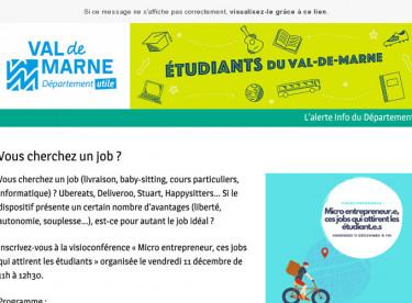 Vous cherchez un job ?
