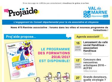 News #75 Rentrée associative : forums dans les villes et nouveau programme de formations