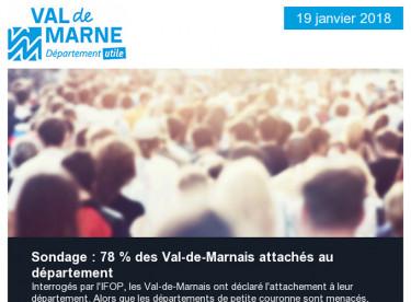 Regard des Val-de-Marnais sur leur département / Pont de Nogent / Projaide / Véligo / Mac Val