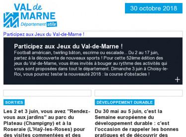 Jeux Du Val-de-Marne / Sorties / Développement durable / Balade urbaine / UPEDD / Culture / Handicap