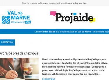 News Proj'aide #129 Proj'aide près de vous, actualité juridique et bénévolat