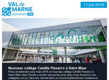 Collège / Département utile / Prix ECVF / Printemps des poètes / Conseil départemental des collégiens