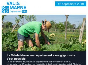 """Le Val-de-Marne, département sans glyphosate : c'est possible ! / """"Prenez rendez-vous avec l'emploi"""" à Créteil"""