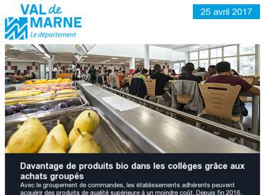 Du bio au collège / Fabriques d'art / Agriculture / Villages vacances / Michel Germa