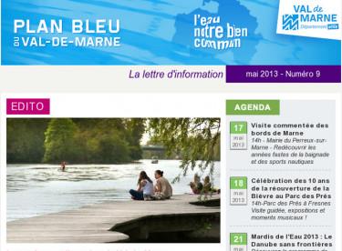 Lettre d'information du Plan bleu - Le tourisme et l'eau