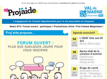 News #72 / Forum ouvert : participez ! /Formations d'été / Prix Femme Marjolaine
