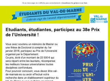 Prix université