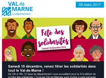 Fête des Solidarités / Expo universelle / Collège Pissarro / Climat / Associations / Altival / Théâtre