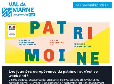 Journées européennes du patrimoine / Associations / Roseraie / Bienvenue à l'Upec / Journée de la Paix