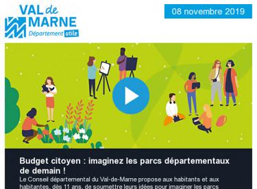 Budget citoyen : Imaginez les parcs départementaux de demain ! - Commission permanente - Altival déclaré d'utilité publique