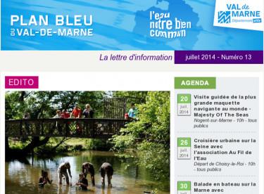 Plan bleu - SDAGE et SAGE en Val-de-Marne