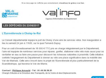 Val'info : 23/06/2017