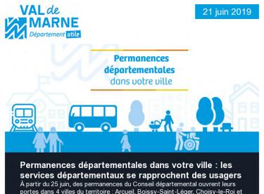 Permanences départementales - Bourse Charles Foix - Privatisation des aéroports ADP - Val'Dingo 94