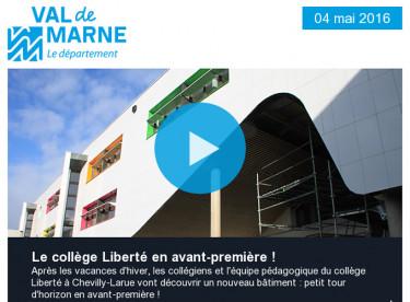 Collège Liberté /  Analyse de l'eau et de l'air / RD127 / Ligne 10 / Arc boisé