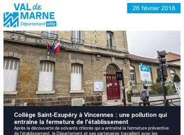 Collège Saint-Exupéry / Réunion publique / Transports / Un Notre Monde / Autonomie / Handicap / ESS / Emploi