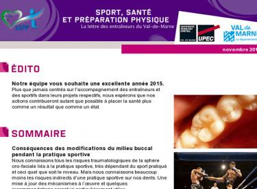 Sport, Santé et Préparation Physique
