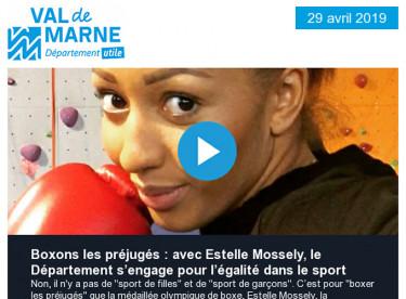 Avec Estelle Mossely, boxons les préjugés ! / Réunion publique à Villeneuve-saint-Georges / Ciné Junior, du cinéma pour les 2-15