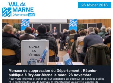 Réunion publique  / Restauration scolaire / Communiqué / Un Notre monde / Collège Jules-Ferry / Mirabal / Prévention