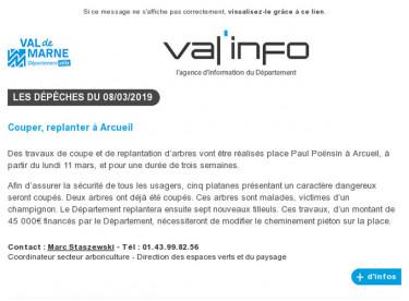 Val'info : 08/03/2019