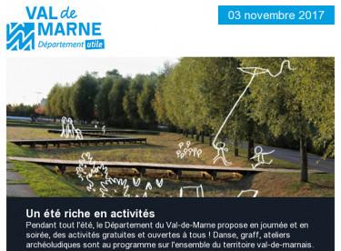 Loisirs en Val-de-Marne / Tour de France / SOS Rentrée / Nature / Tégéval