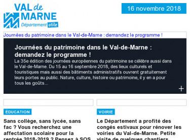 Journées du patrimoine / SOS Rentrée / Chantiers d'été / Ordival / Grand Paris / Archives