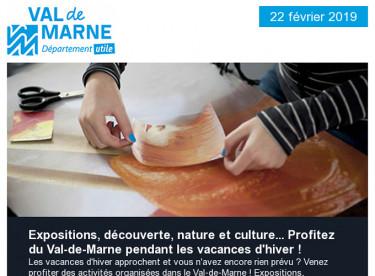 Que faire pendant les vacances d'hiver en Val-de-Marne ? / Episode de pollution / Travaux à Ormesson-sur-Marne