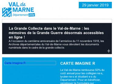 Les archives numérisées de la Grande Guerre accessibles en ligne / Carte ImagineR / De l'action pour transformer le Val-de-Marne
