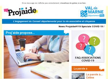 News Projaide#119 Spéciale COVID 19