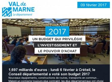 Budget 2017 / Généalogie / Formation