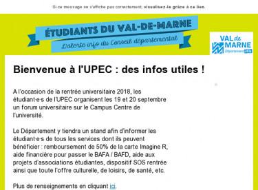Happy UPEC : venez découvrir votre université !