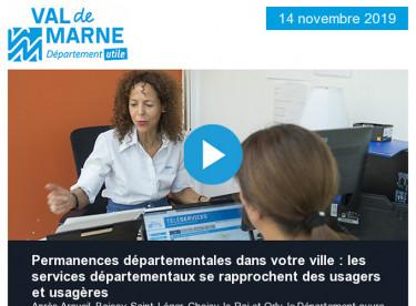 Le Département ouvre une nouvelle permanence à Sucy-en-Brie - 18e édition d'Un Notre Monde : rendez-vous dès le 15 novembre !