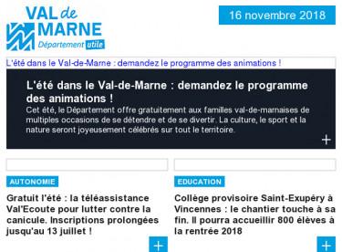 Animations estivales / Val'écoute / collège Saint Exupéry / renardeaux au parc des Marmousets / Nous n'irons pas à Avignon