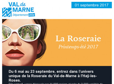 Roseraie / Jeux Handi-Cap / Val'Ecoute / Communiqué