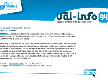 Val-info 94 : 24/03/2017