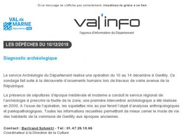 Val'info : 10/12/2018