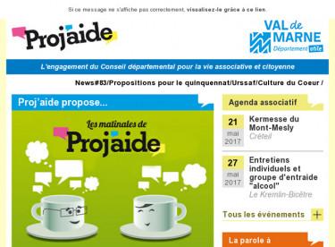 News#83/Propositions pour le quinquennat/Urssaf/Culture du Coeur