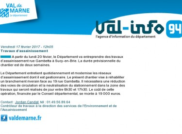 Val-info 94 : 17/02/2017